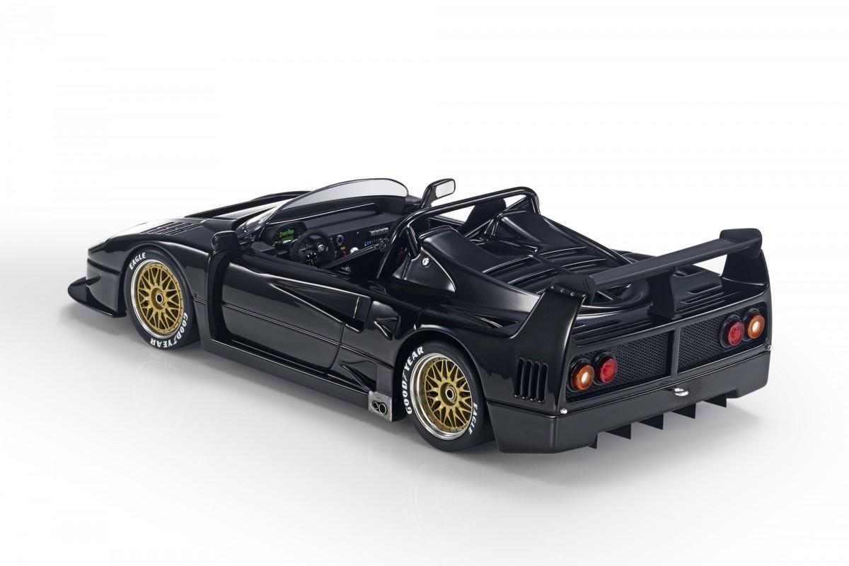 Top Marques Collectibles Ferrari F40 Lm Beurlys Barchetta Pre Order 1 43 Black Tm43 10c