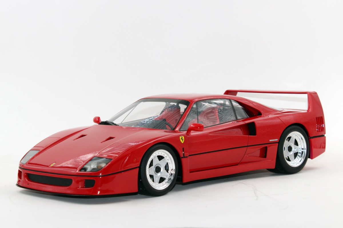 BMW Pre Owned >> Top Marques Collectibles Ferrari F40, 1:12 red | TM12-17A