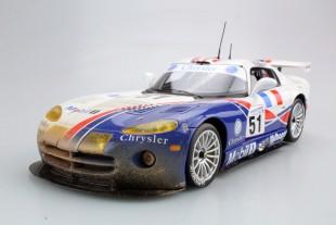 Dodge/Chrysler Viper GTS-R Oreca Le Mans Winner 99 dirty