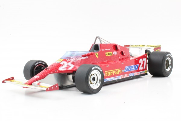 Ferrari 126 CX Villeneuve (Pre-order)