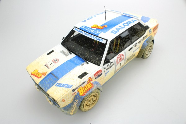 Fiat 131 Abarth Winner 1000 Lakes 1980 Dirty version