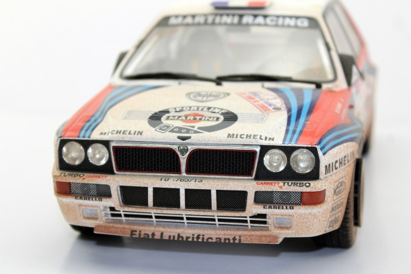 Lancia Delta Tour de Corse winner 1992 dirty