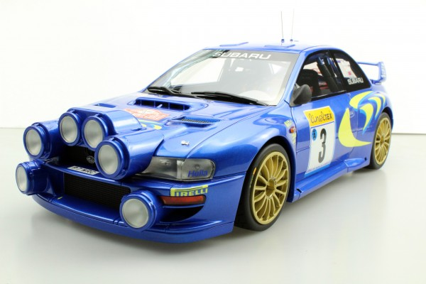 Subaru S4 WRC MC Rally 1998