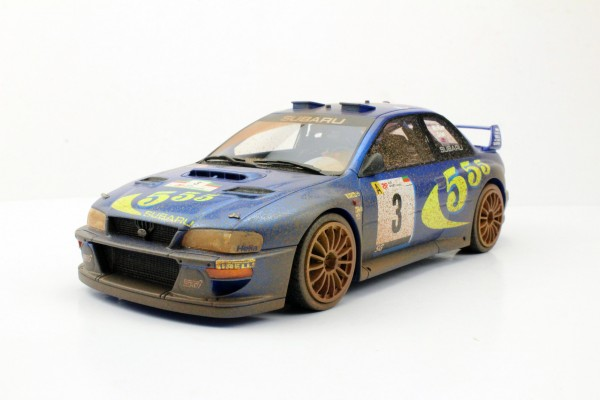 Subaru Impreza S4 WRC Portugal Winner 1998 Dirty