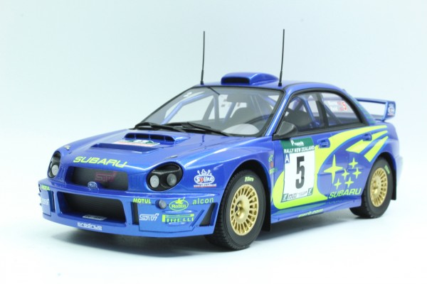 Subaru Impreza S7 555 WRT New Zealand winner