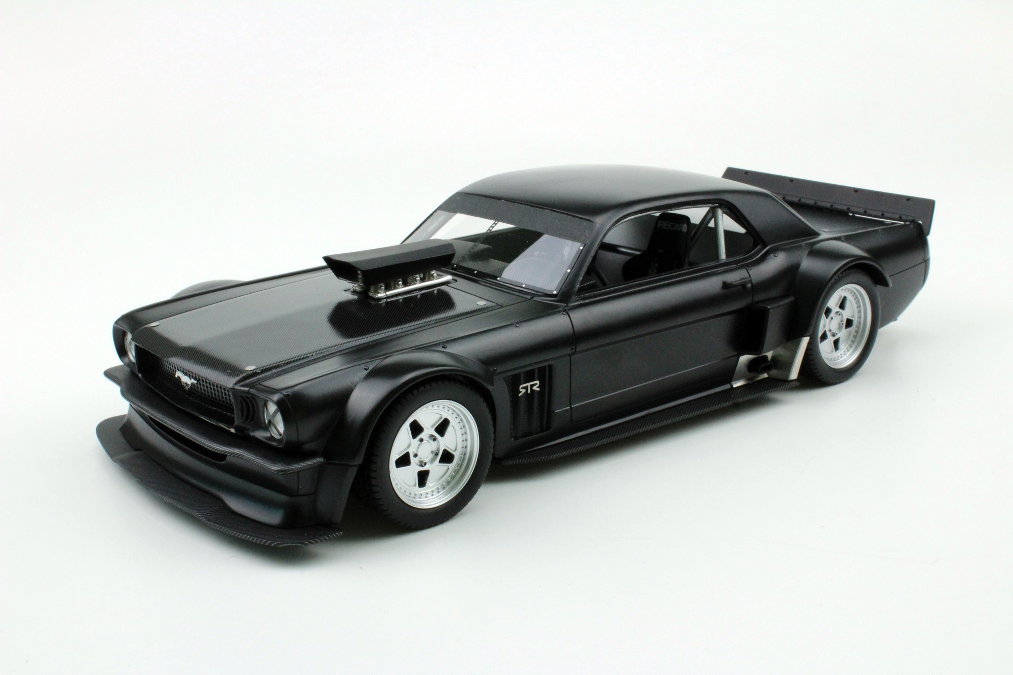 """Maserati >> Top Marques Collectibles Ford Mustang 1965 """"Black Edition"""", 1:18 black 