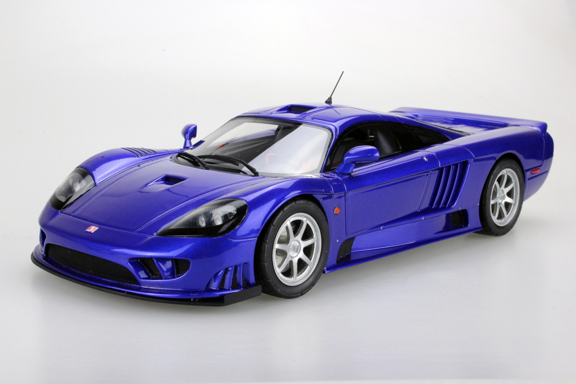 Top Marques Collectibles Saleen S7 Twin Turbo (Pre-order), 1:18 blue ...