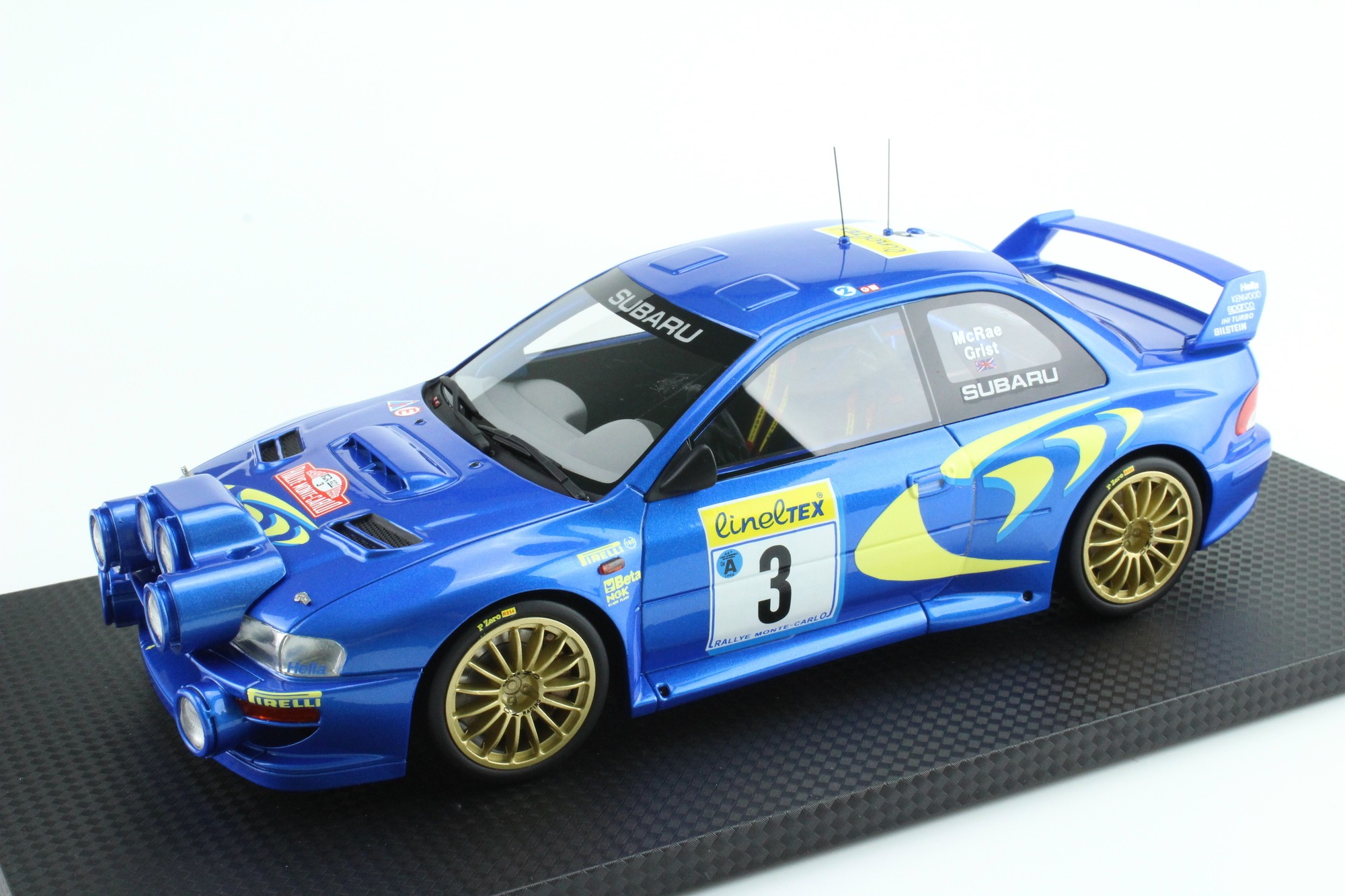 top marques collectibles subaru impreza s4 wrc mc rally 1998 colin mcrae nicky grist 1 18. Black Bedroom Furniture Sets. Home Design Ideas