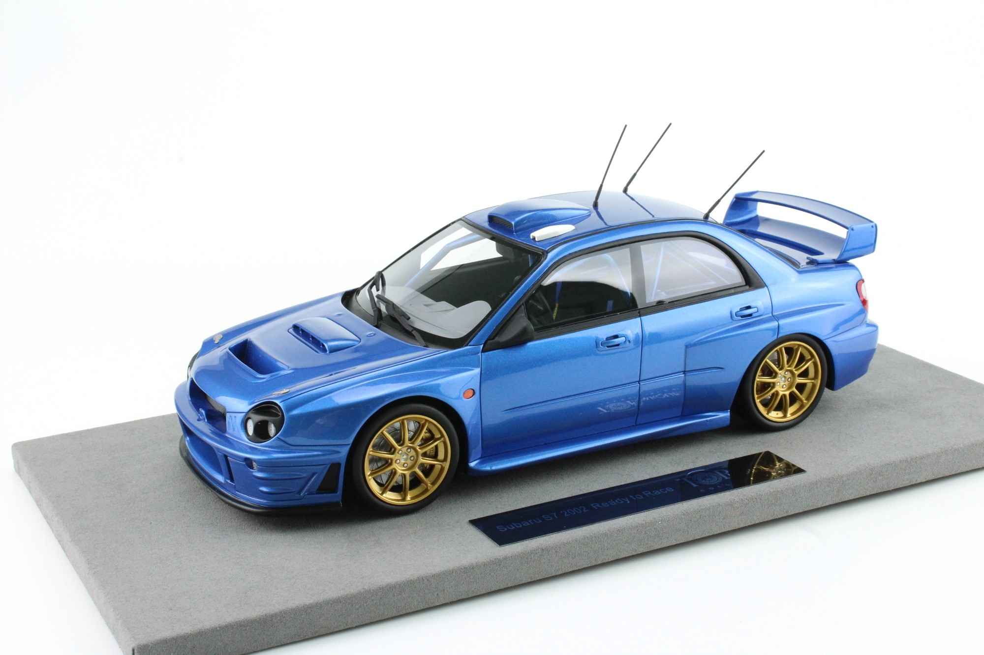 Top Marques Collectibles Subaru Impreza S7 555 Wrt Without Decals Tommi M 228 Kinen Kaj Lindstr 246 M