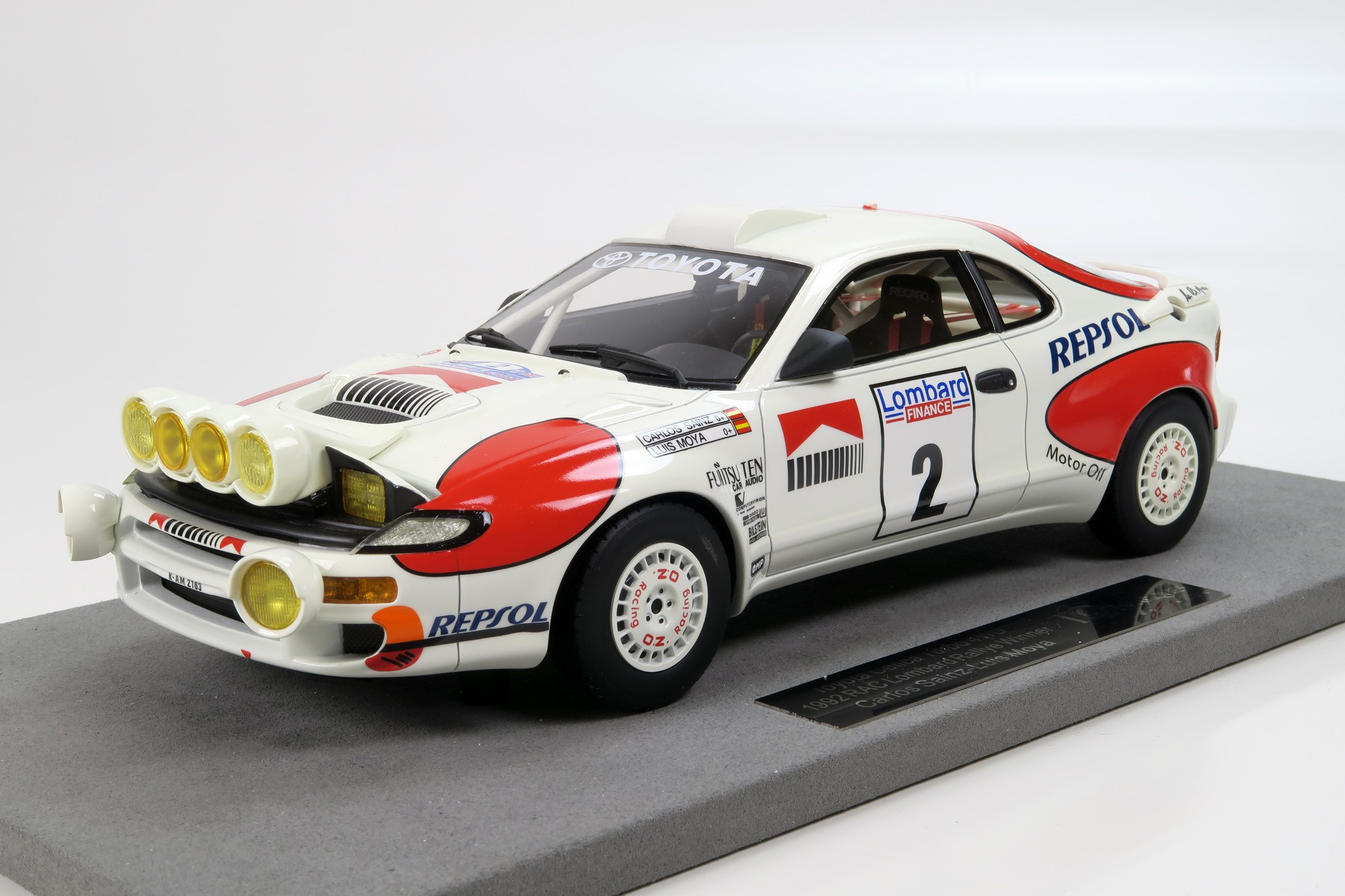 Top Marques Collectibles Toyota Celica Winner RAC Rally 1992 Night ...