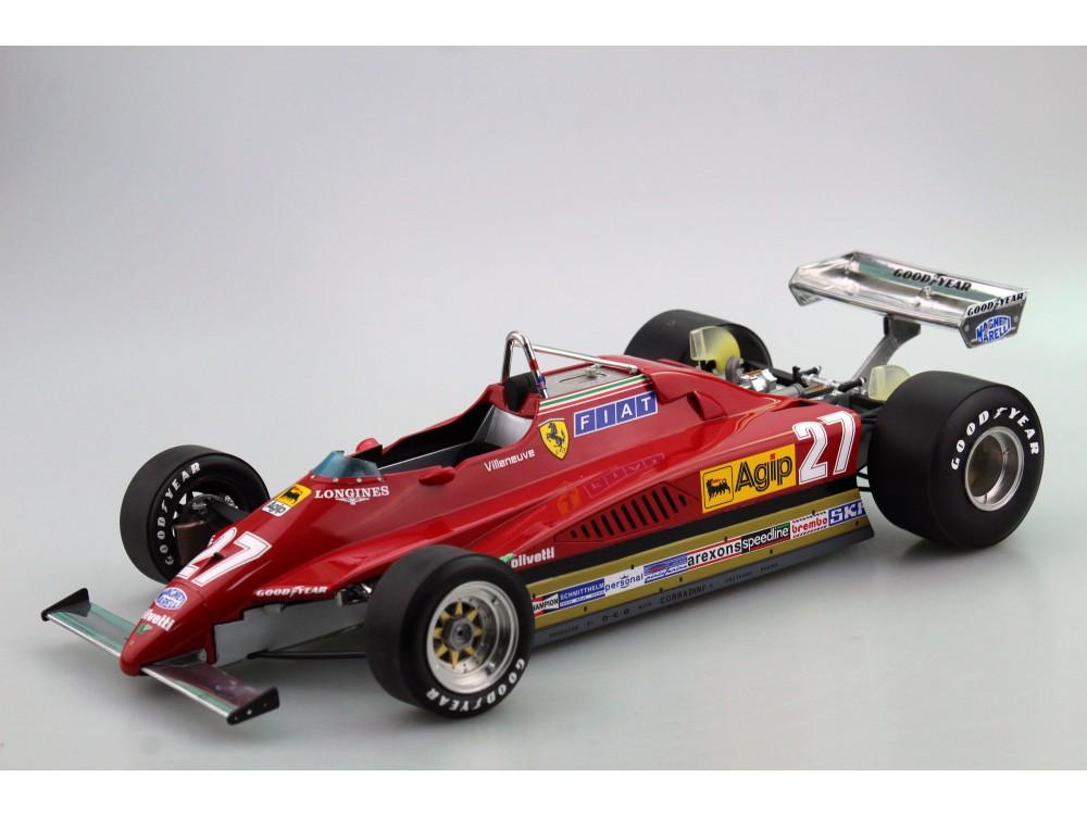 Ferrari 126 C2 1982 GP Zolder Villeneuve