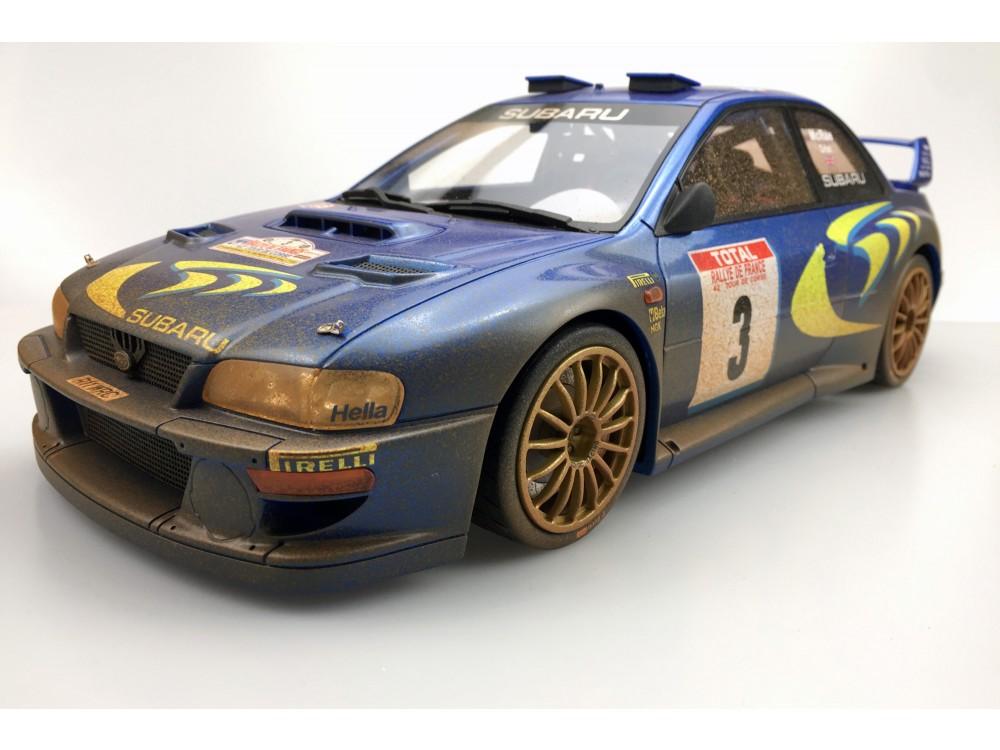 Subaru S4 WRC 1998 Tour De Corse dirty