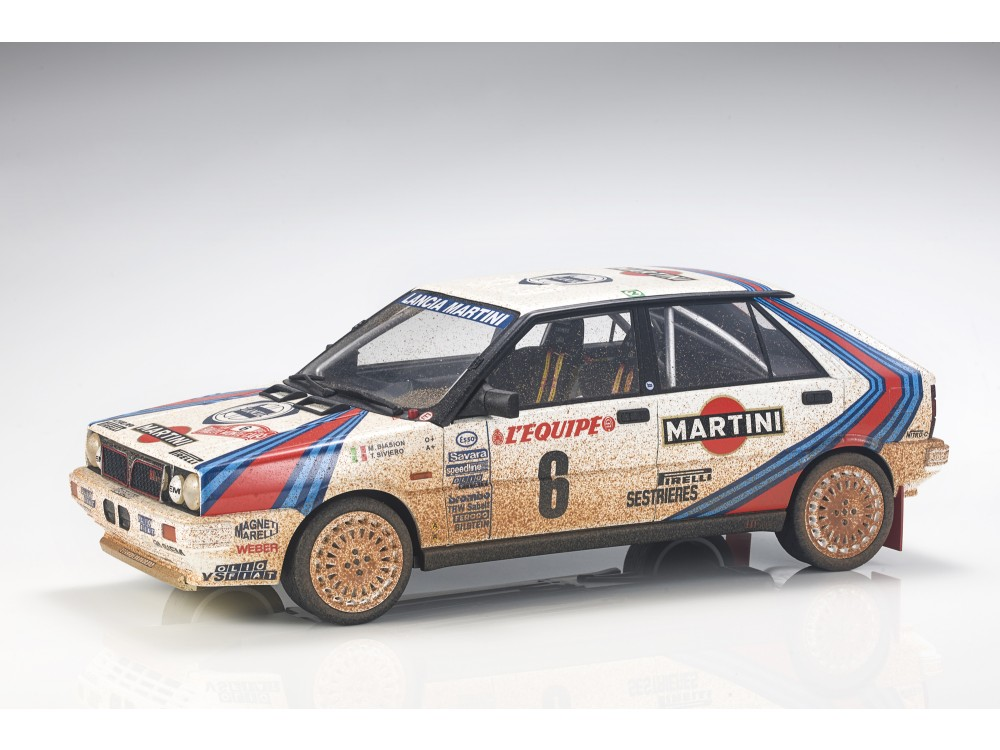 Lancia Delta 4WD 1987 MC Winner Dirty (Pre-order)