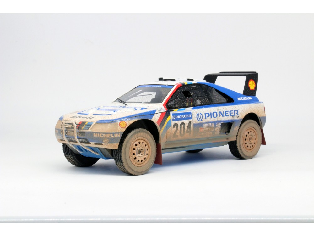 Peugeot 405 GT T-16 Paris Dakar Winner 1989 dirty