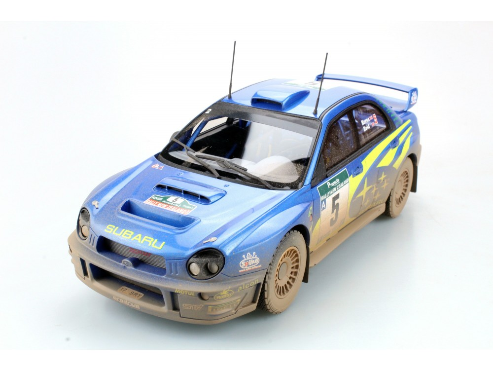 Subaru Impreza S7 555 WRT New Zealand winner dirty