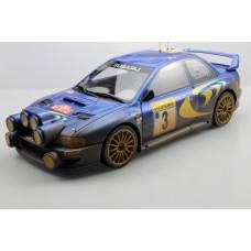 Subaru S4 WRC MC Rally 1998 dirty