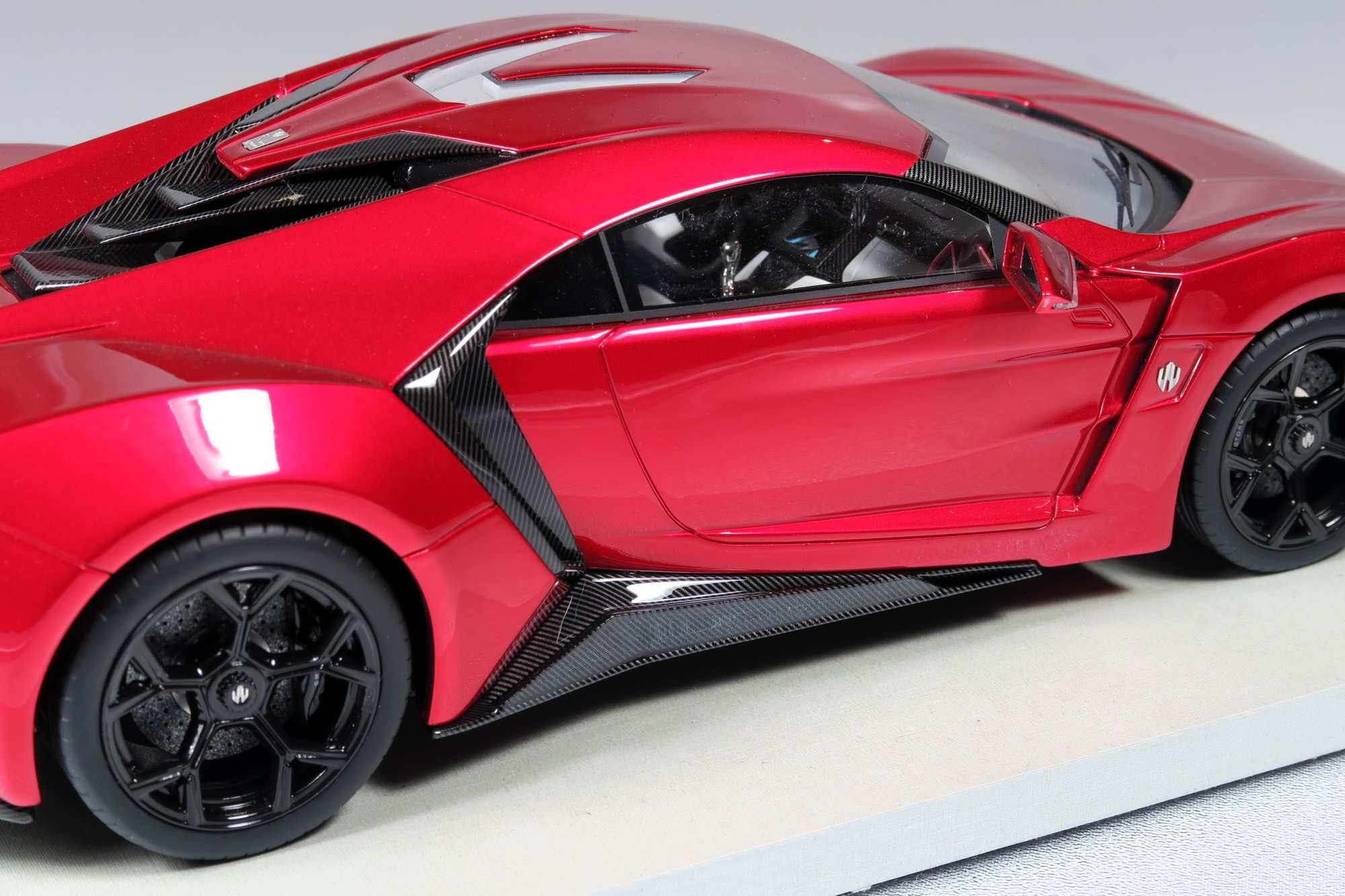 Lykan Hypersport Top View >> Top Marques Collectibles Lykan Hypersport 1 18 Red Top30e