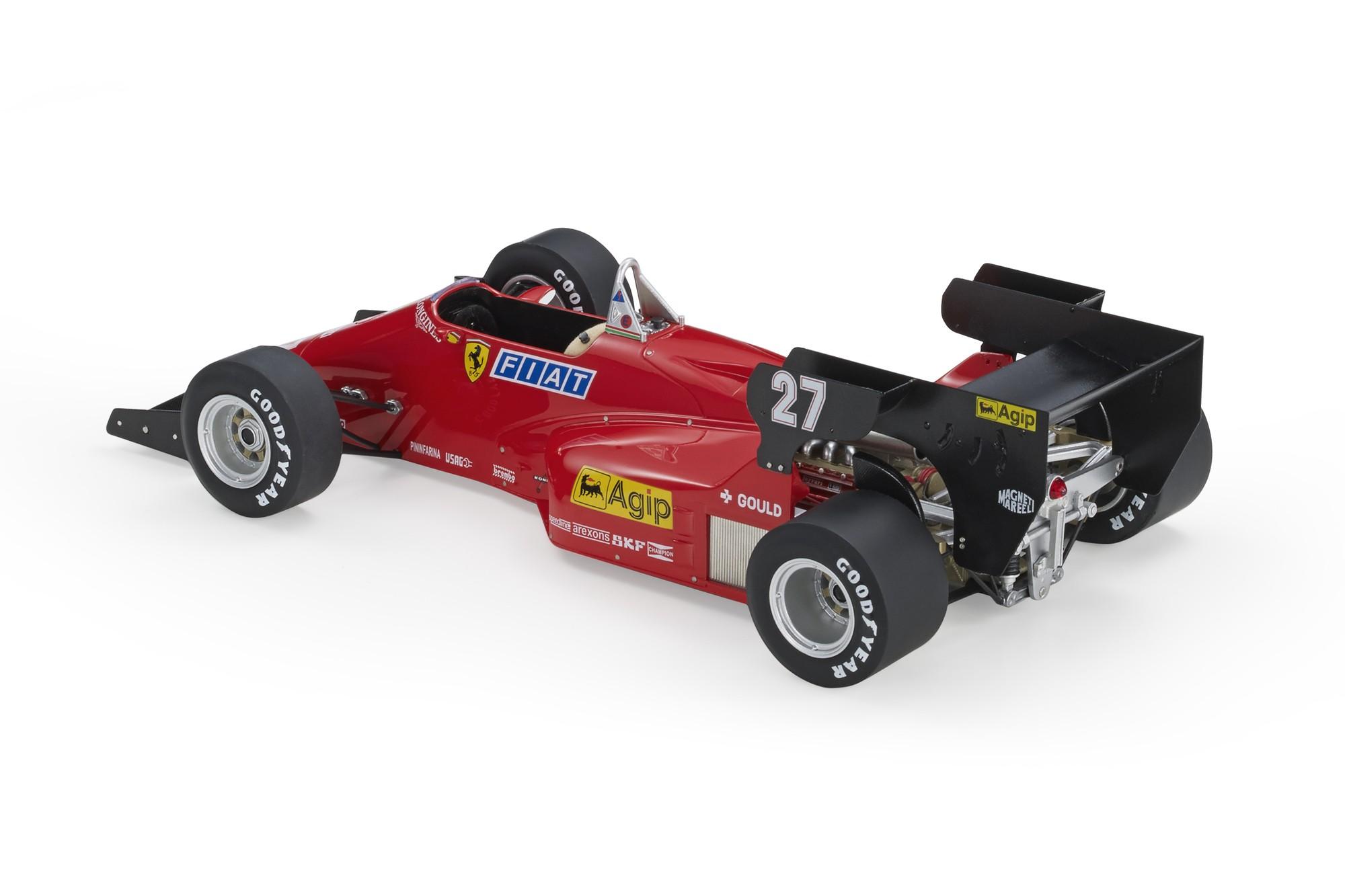 GP Replicas Ferrari 126 C4 Alboreto (Pre-order), Michele Alboreto, 1:18  racing