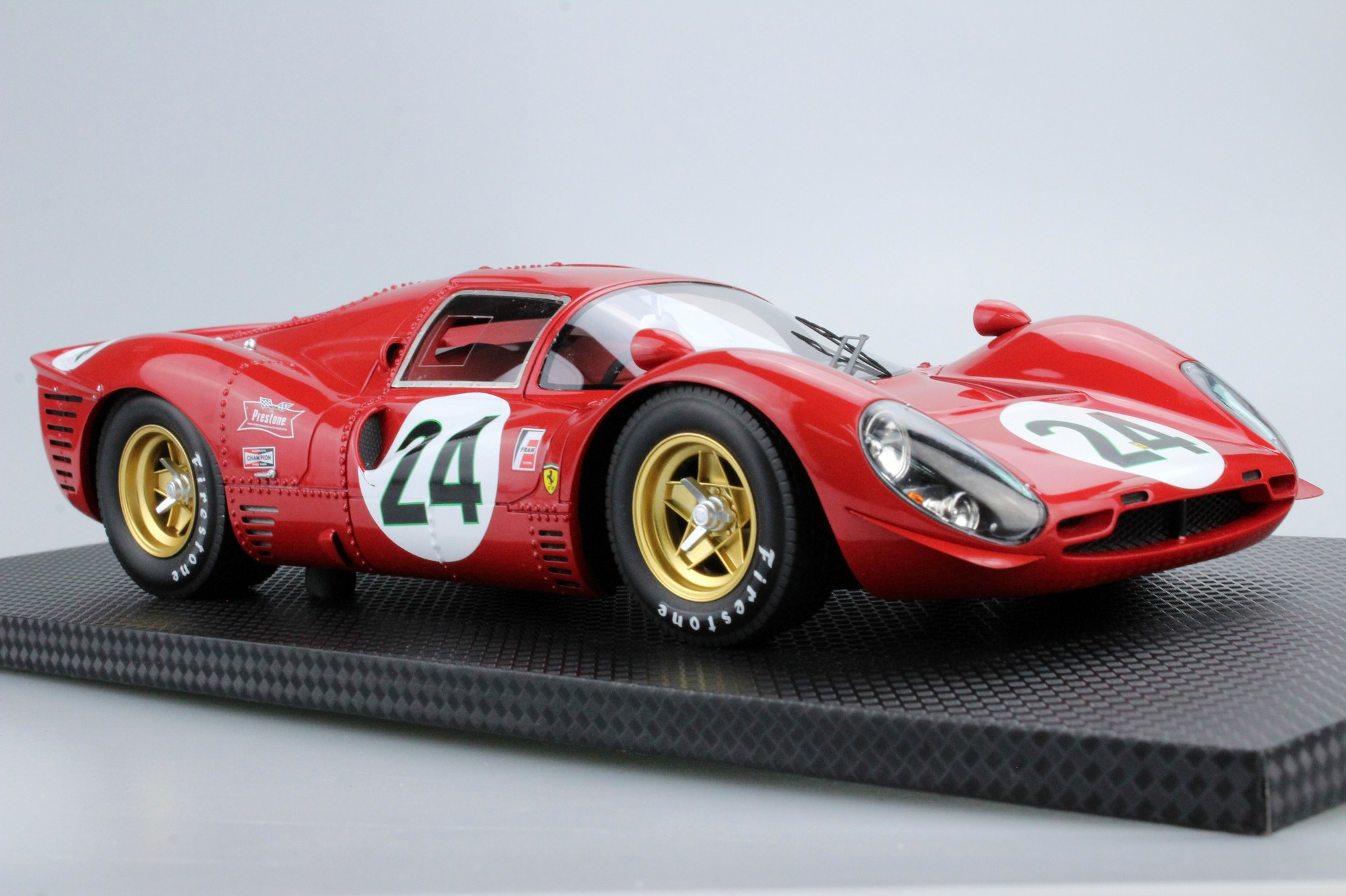 Gp Replicas 330 P4 Daytona 2nd Place 1967 24 Ludovico