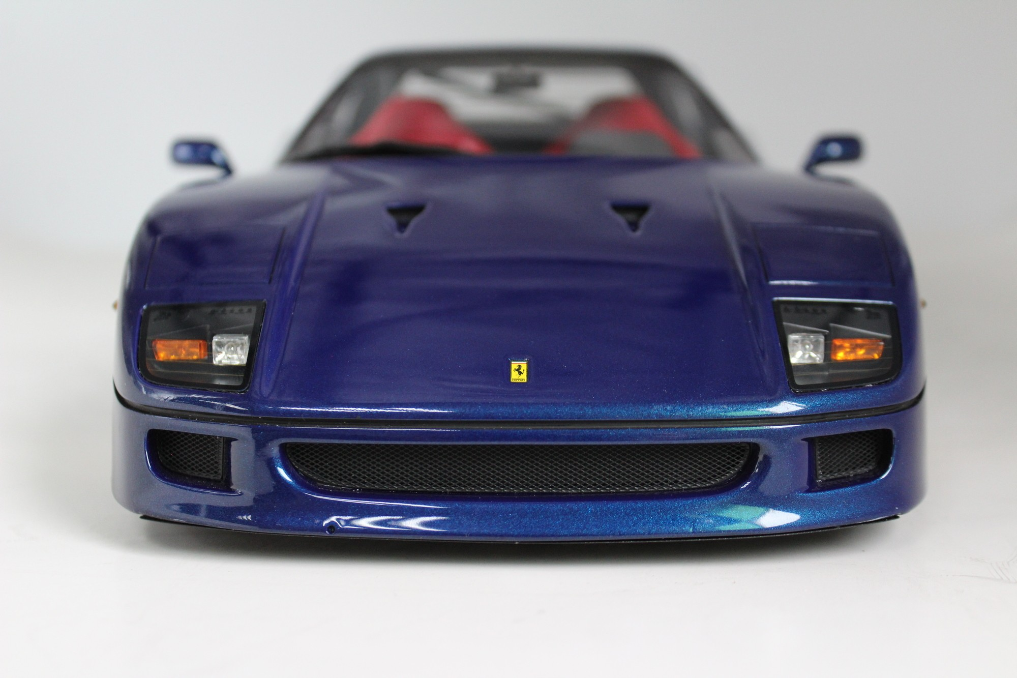 Top Marques Collectibles Ferrari F40 Pre Order 1 12 Blue Tm12 17e