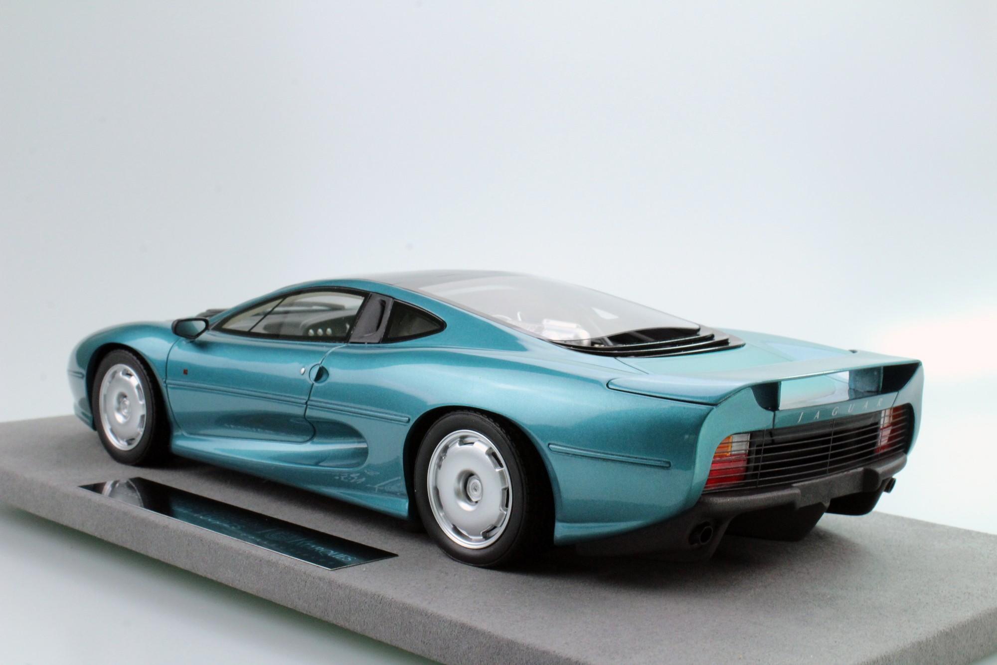 Top Marques Collectibles Jaguar Xj220 1 18 Green Top39a