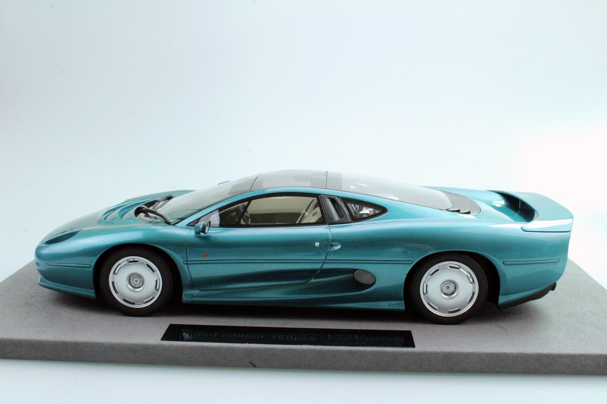 Top Marques Collectibles Jaguar XJ220, 1:18 green | TOP39A