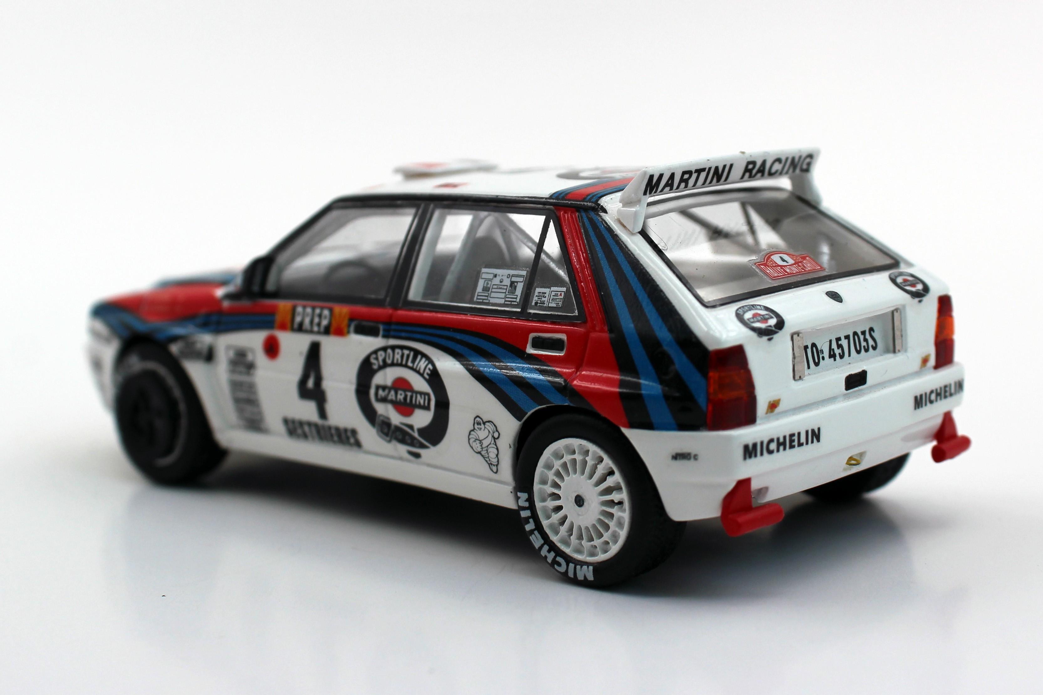 LANCIA DELTA Rally Tour de Corse Corsica 1992 C144 Decal 1:43 Carlos Menem