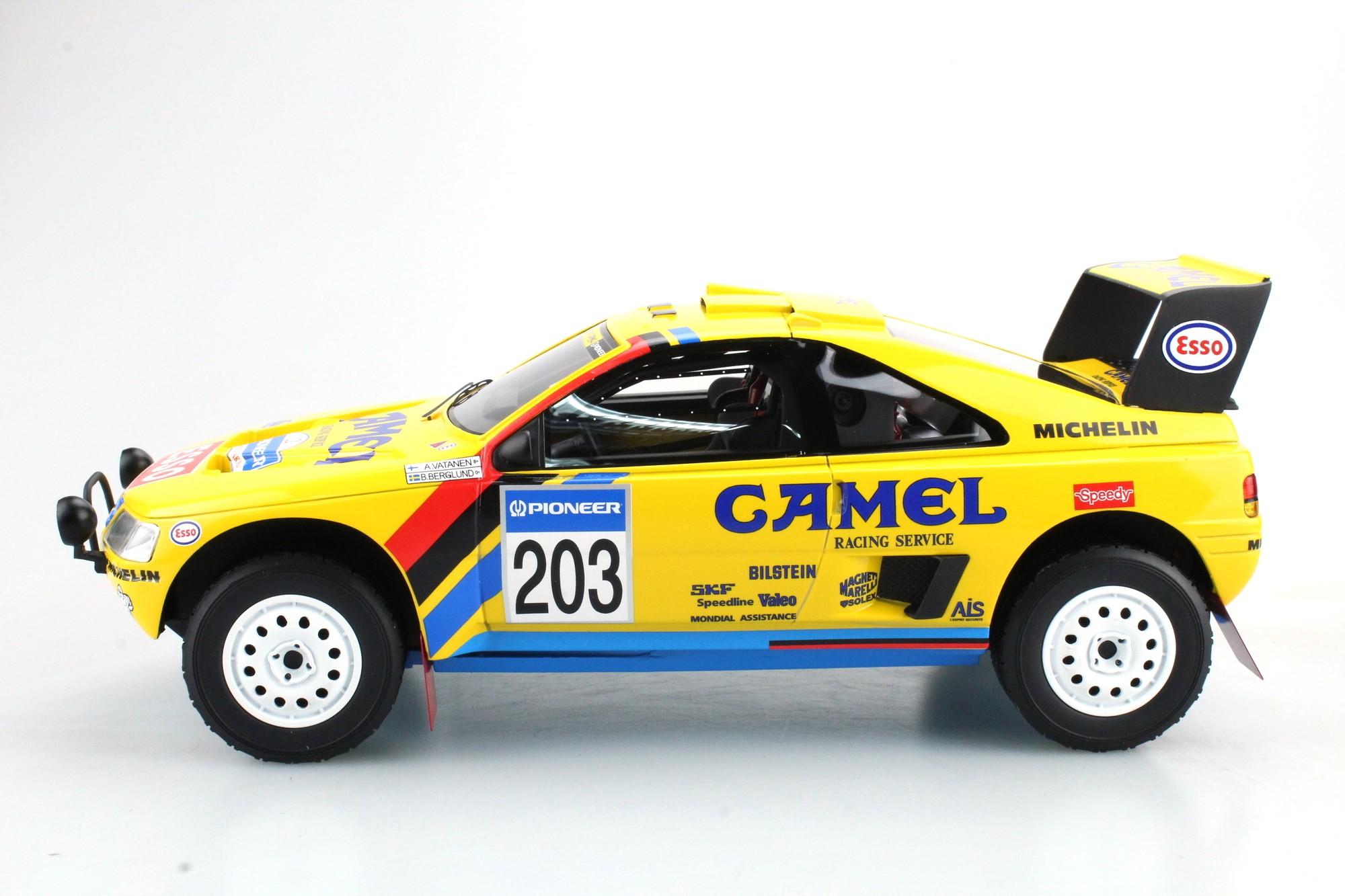 Top Marques Collectibles Peugeot 405 GT T 16 Paris Dakar Winner 1990