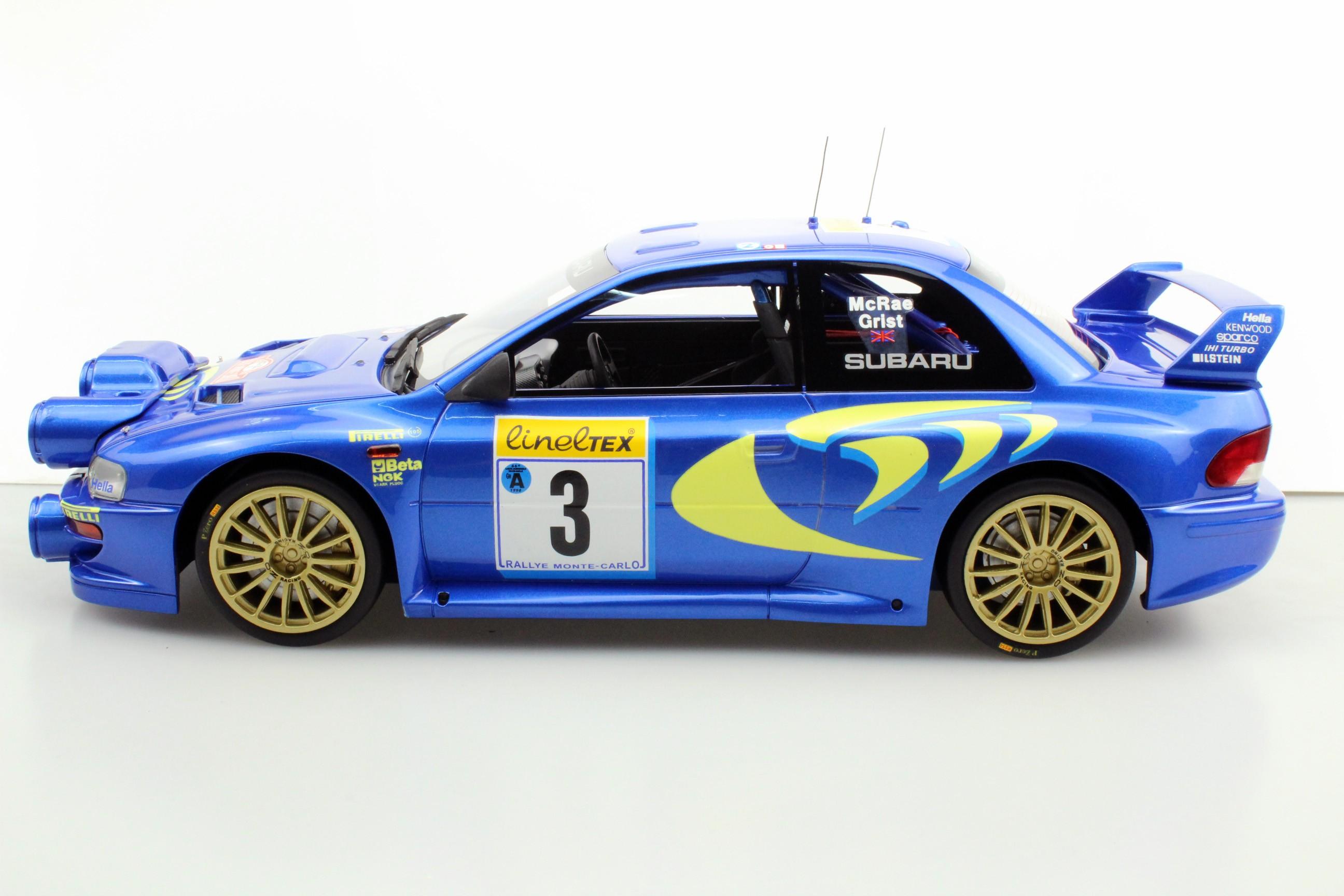 Top Marques Collectibles Subaru S4 WRC MC Rally 1998 (Pre-order ...
