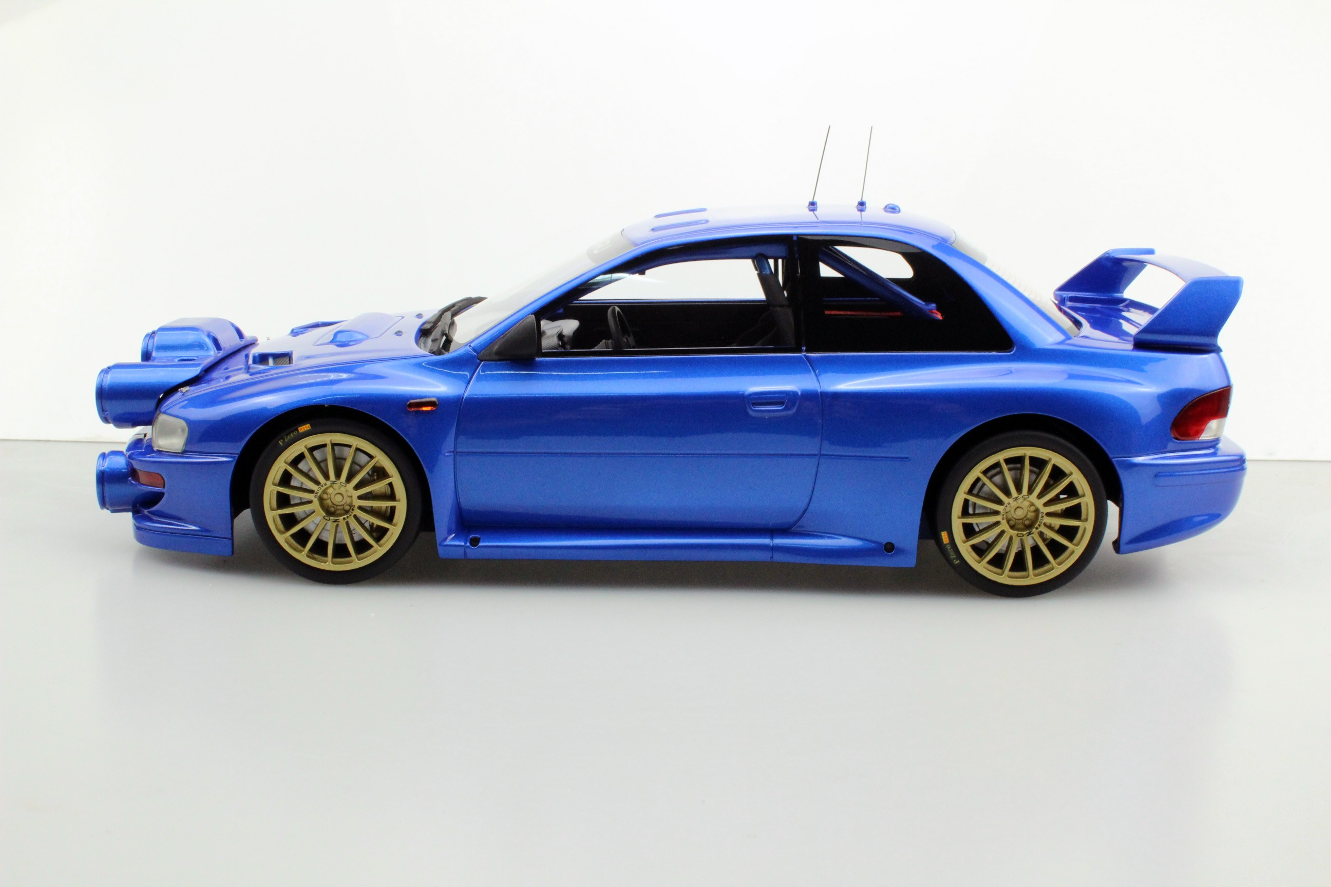 Top Marques Collectibles Subaru S4 Wrc Mc Rally 1998