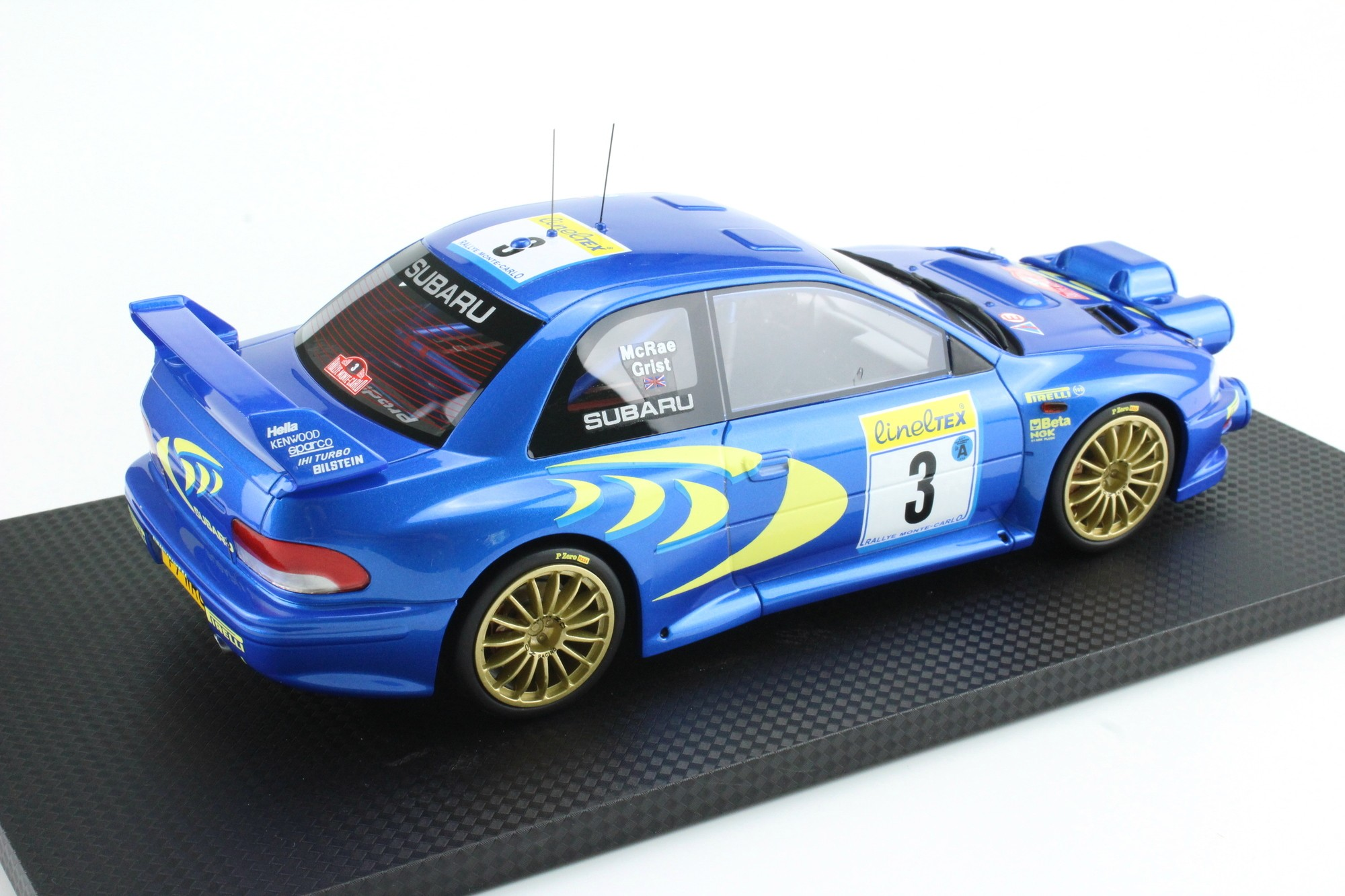 Brown Automotive Group >> Top Marques Collectibles Subaru Impreza S4 WRC MC Rally 1998, Colin McRae, Nicky Grist, 1:18 ...