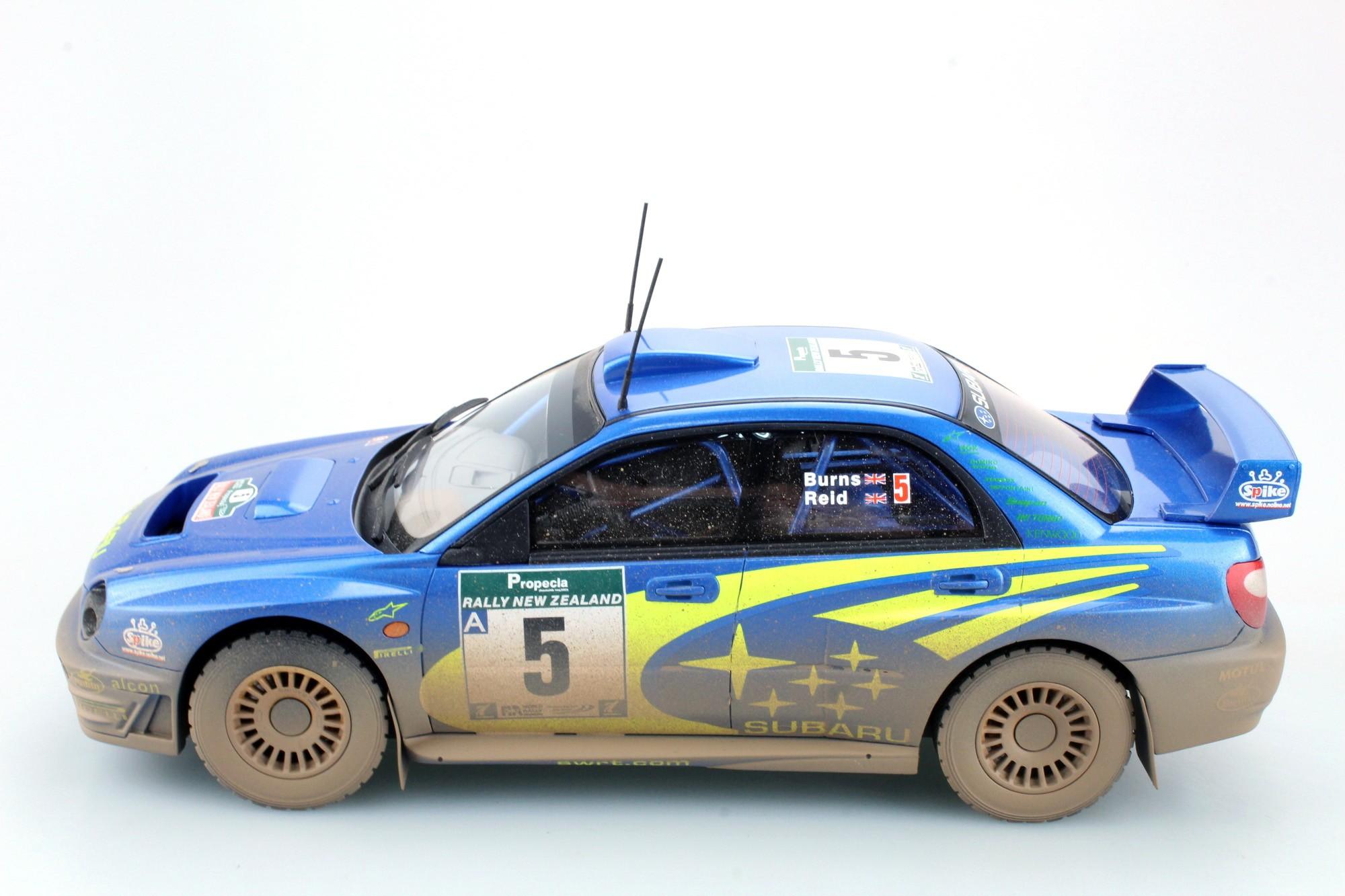 Top Marques Collectibles Subaru Impreza S7 555 Wrt New