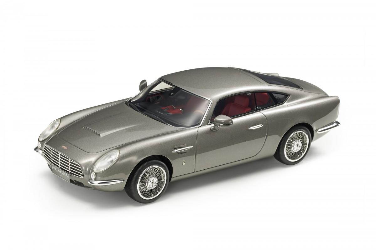 Top Marques Collectibles David Brown Speedback Gt Pre Order 1 18 Silber Top65a