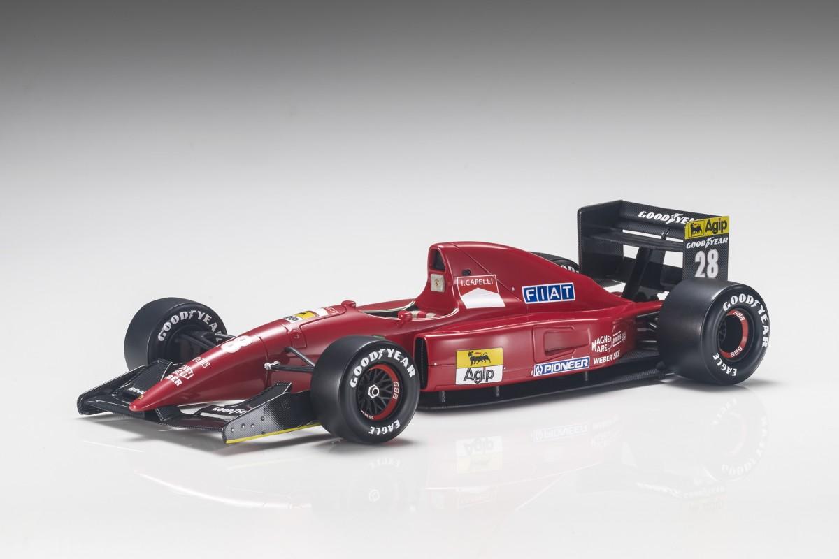 Gp Replicas Ferrari F92a 1992 Ivan Capelli Ivan Capelli 1 18 Bunt Rennsport Gp20b