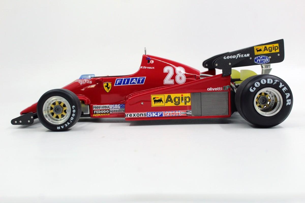 Gp Replicas Ferrari 126 C2b 1983 Arnoux Pre Order Rene Arnoux 1 18 Bunt Rennsport Gp33b