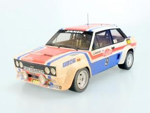 Fiat 131 Abarth 1977 San Remo Winner dirty
