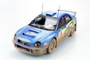 Subaru Impreza S7 555 WRT New Zealand winner dirty