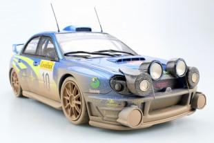 Subaru Impreza S7 555 WRT dirty w headlamps