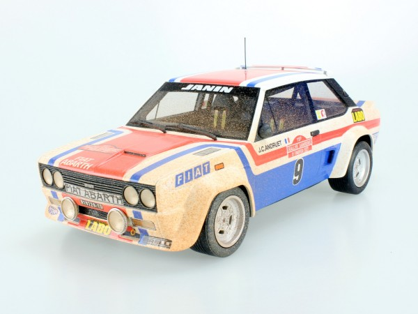 Fiat 131 Abarth 1977 San Remo Winner dirty