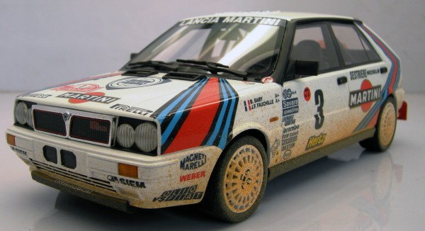 "Lancia 4WD MC Winner 1988 ""mud/dirty"""
