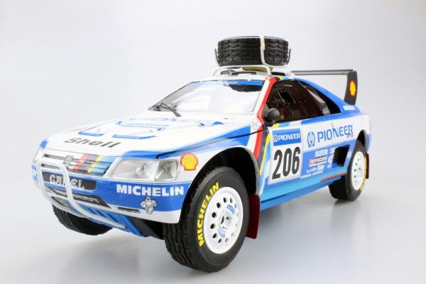 Peugeot 405 GT T-16 Paris Dakar 2nd place 1989