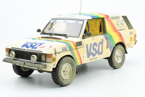 Range Rover Paris Dakar VSD Winner 1981 dirty