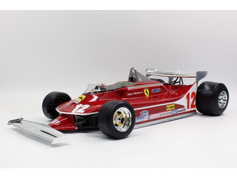 312 T4 Gilles Villeneuve Short Tail