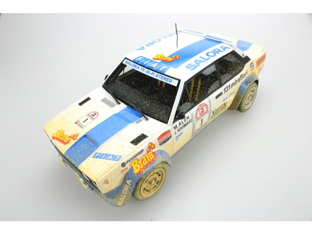Fiat 131 Abarth Winner 1000 Lakes 1980 Dirty version