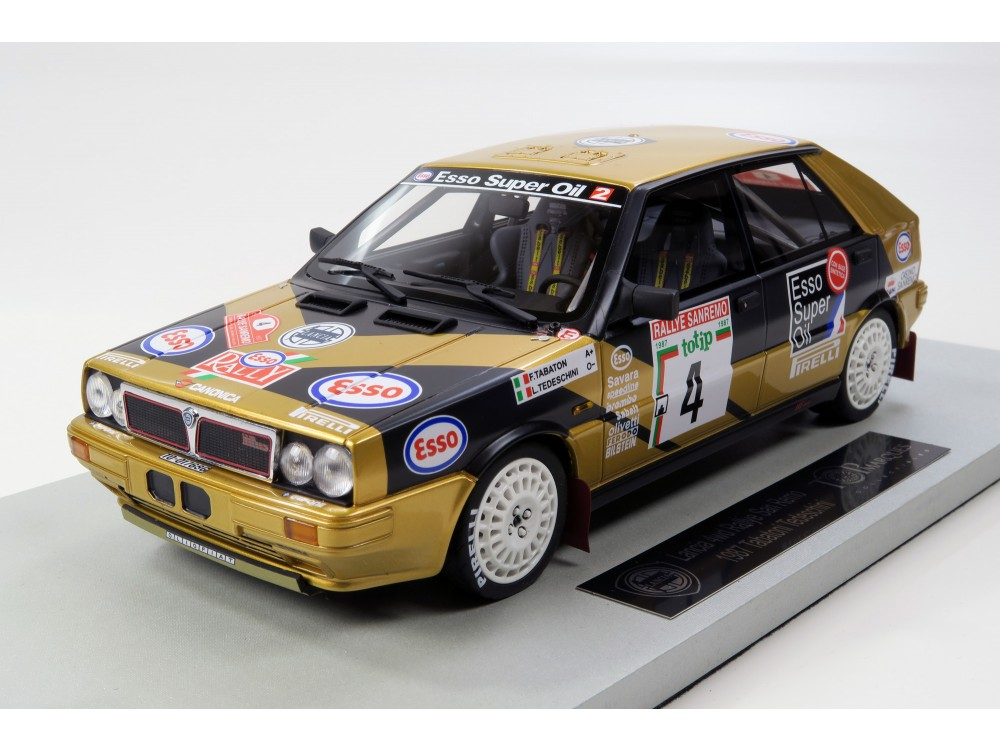 Lancia 4WD Esso 5th San Remo 1987