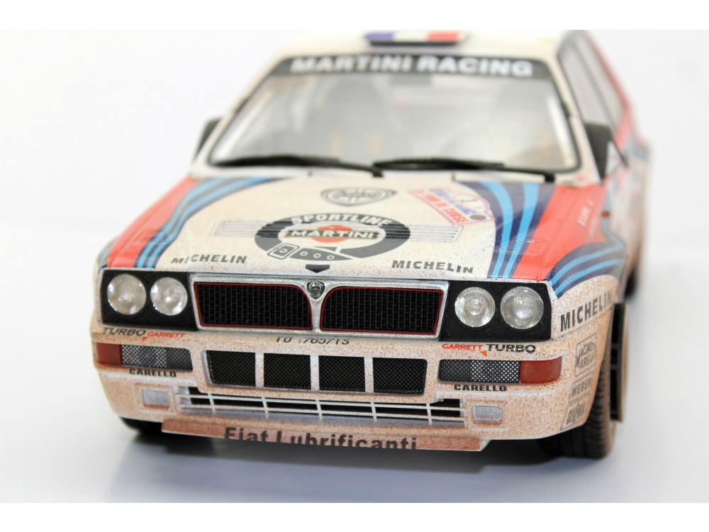 Lancia Delta Tour de Corse winner 1992 dirty