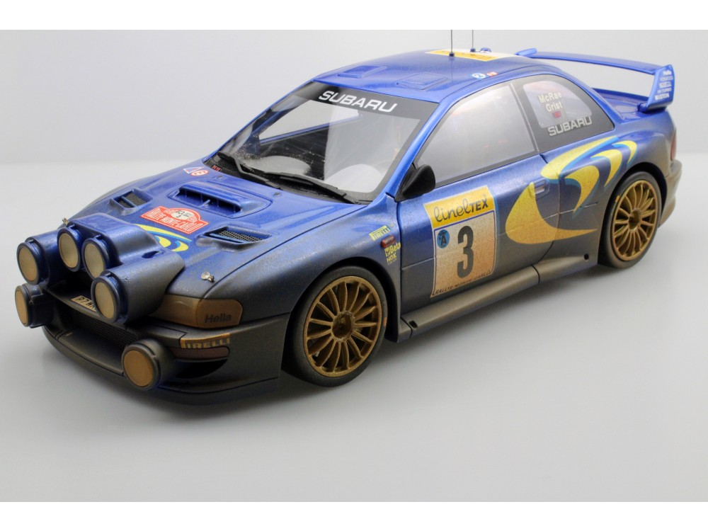 Subaru S4 WRC MC Rally 1998 dirty