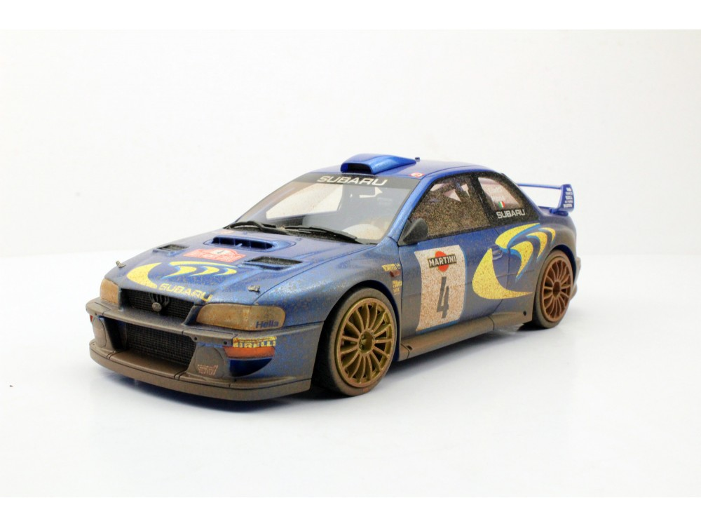 Subaru Impreza S4 WRC 2nd Place San Remo 1998 Dirty
