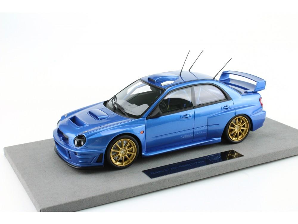 Subaru Impreza S7 555 WRT without decals