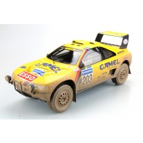 Peugeot 405 GT T-16 Paris Dakar Winner 1990 dirty